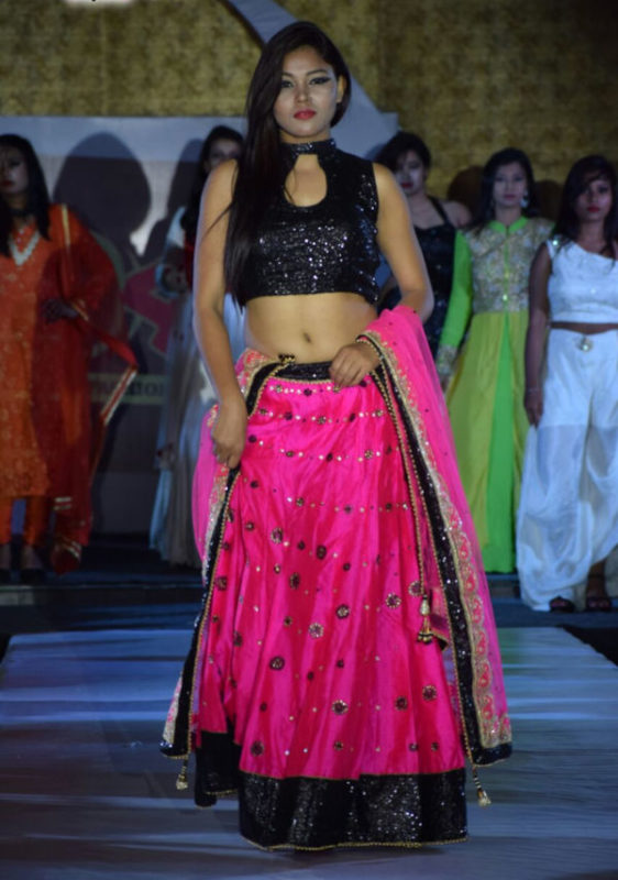 Lahenga with a designer blouse
